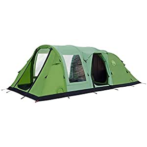 Coleman Unisex FastPitch Air Valdes 6 Inflatable Family Tent, Green, 6 Person