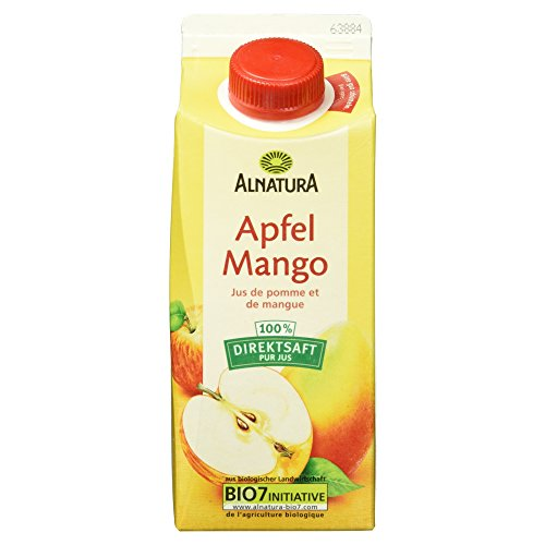 Alnatura Bio Apfel-Mango-Saft (1 x 750 ml) (Mango-saft)