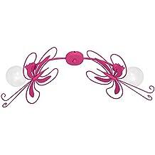 Kinderzimmerlampe Deckenlampe Kinderlampe Kinderleuchte Pink SCHMETTERLING