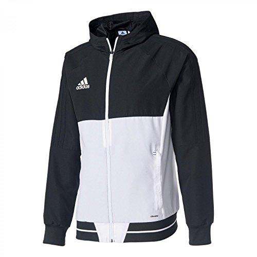 adidas-herren-tiro-17-presentation-jacke-black-white-s