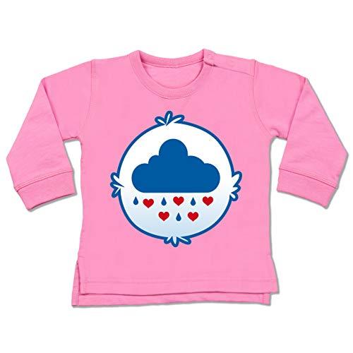 Karneval und Fasching Baby - Cartoon-Bärchis Wolke - 6-12 Monate - Pink - BZ31 - Baby ()