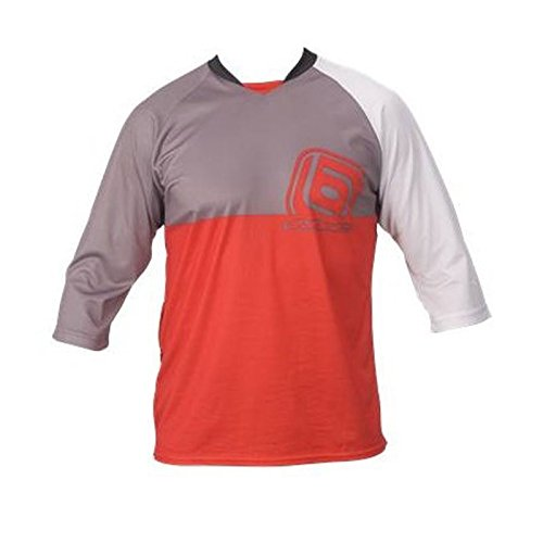 the-industries-cosmo-3-4-sleeve-mountain-bike-jersey-red-large