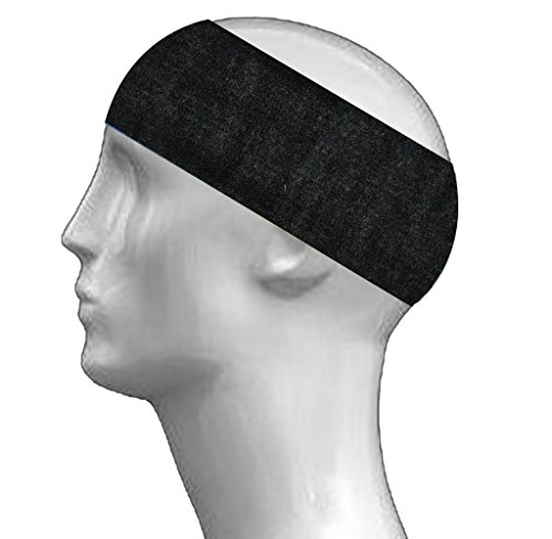 Indsights Fitness Sports Headband for Running Jogging tennis for Boys Mens (Black)  available at amazon for Rs.99