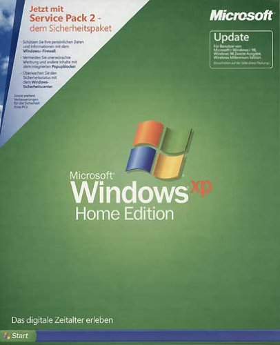 Windows XP Home Edition Update inkl. Service Pack 2 (PC) (Window Xp Home Edition)