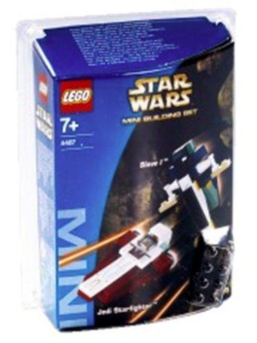 LEGO 4487 MINI Jedi Starfighter & Slave