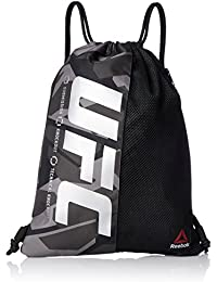 Reebok Synthetic 46 cms Black Gym Bags (BR4595)