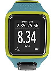 TomTom GPS Sportuhr Runner Limited, Turquoise/Green, One size, 1RR0.001.09