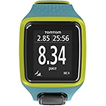 TomTom Runner Watch Ltd Ed. - GPS de mano, turquesa y verde (importado)