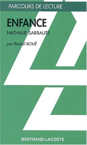Pdf Enfance Nathalie Sarraute Epub Allanerho