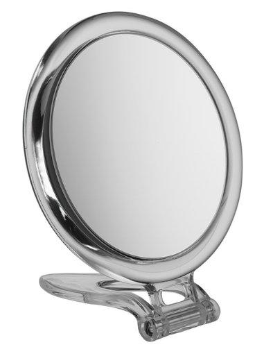FMG Mirrors - Miroir de voyage rond grossissant x10 - 15 cm de diamètre