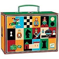 Djeco  - Juego ajedrez y damas