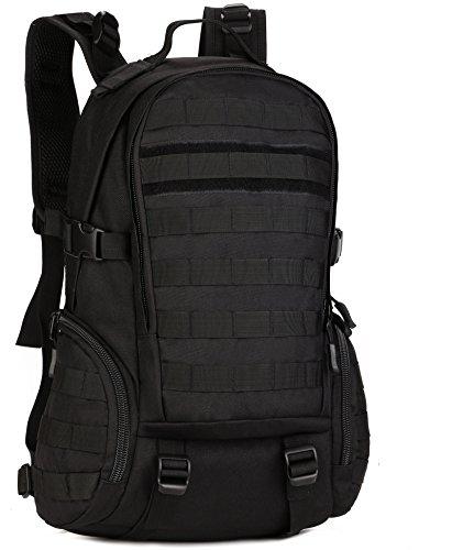 DCCN 25L Taktischer Rucksack Militär Wanderrucksack Molle Daypack für Outdoor Wandern Camping Reisen