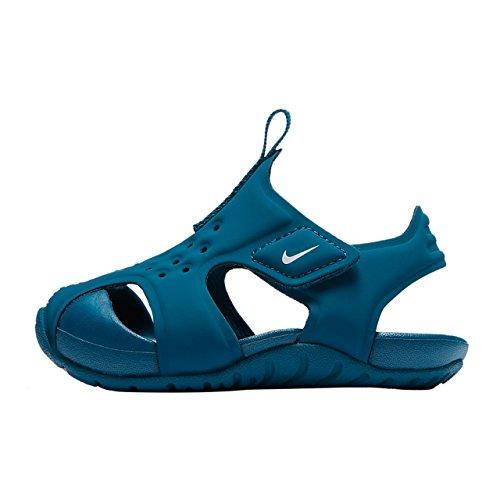 best service 00f36 7baf1 Nike Sunray Protect 2 (TD), Sandalias Bebé Unisex, (Green Abyss