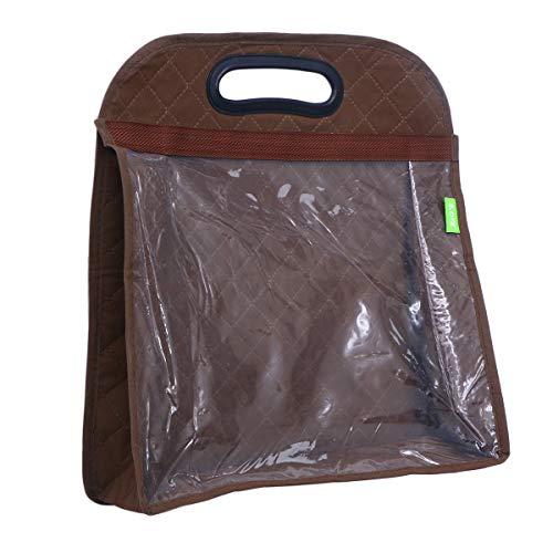 Topbathy armadio armadio salvaspazio salvaspazio organizzatore porta borsa - taglia m (caffè)
