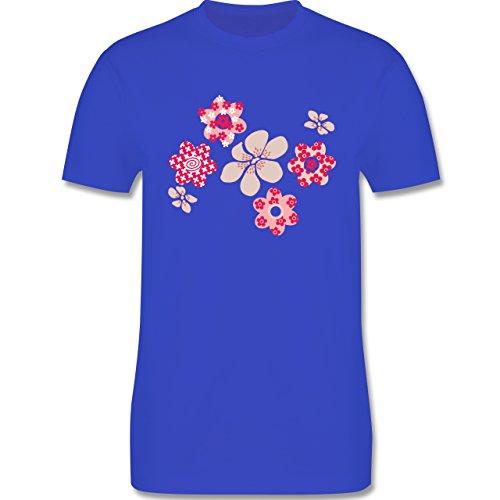 Blumen & Pflanzen - Blumen - Herren Premium T-Shirt Royalblau