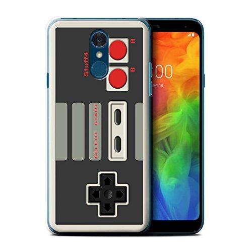 Stuff4® Hülle/Case für LG Q7/Q7+/Q7a / Klassisches Nintendo Muster/Spielkonsolen Kollektion