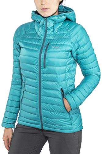RAB Damen Microlight Alpine Long Jacke Isolationsjacke (Jacke Alpine Microlight)