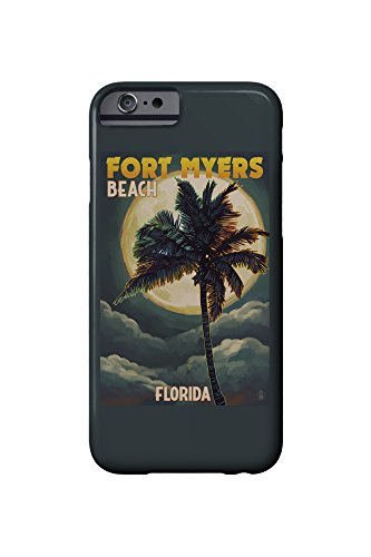 fort-myers-beach-florida-palms-and-moon-iphone-6-cell-phone-case-slim-barely-there