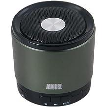 August MS425G Mini Altoparlante Bluetooth con Microfono - Potente Altoparlante