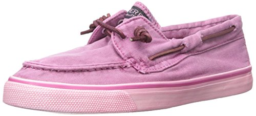 Sperry Top-Sider Bahama Washed, Baskets Basses femme Pink (BRIGHT PINK)