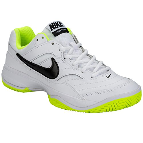 Nike Damen Wmns Court Lite Tennisschuhe, Blanco (Blanco (White/Black-Volt)), 38 EU