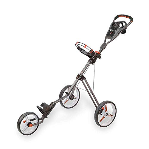 Motocaddy Neuf Z1 Poussoir Chariot - Graphite/Rouge