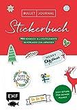 Bullet Journal – Stickerbuch Merry Christmas: 900 weihnachtliche Schmuckelemente: Easy Setups für deinen Planer mit 50 Vorlagen zum Abpausen