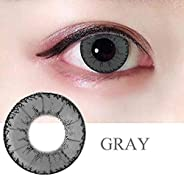 2PCS Fashion Cosmetic Contact Lenses Crazy Color Big Circle Eyes Makeup Party Beauty Lens Women Eyes Make Up Y