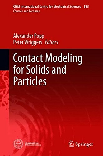 Contact Modeling for Solids and Particles (CISM International Centre for Mechanical Sciences, Band 585)