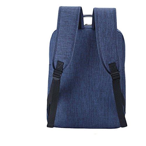 Umhängetasche Rucksack Männer Und Frauen Computer Tasche Freizeit Einfache Wilde Mode Atmosphäre Grey