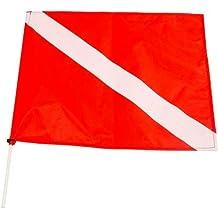 JBL Dive Flag with Fiberglass Poles