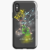 Tinkerbell Peter Pan Fairy Christmas Color Rainbow Princess Girl Love Beautiful Colorful Pirate Hook Happy Child Baby Cute - Apocalypse Phone Case Glass, Glowing For All Iphone, Samsung Galaxy-rapfan