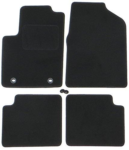 Preisvergleich Produktbild TN-Profimatten Ford Ka RU8 Baujahr 2008-2014 Fussmatten - Autoteppich Original Passform osov