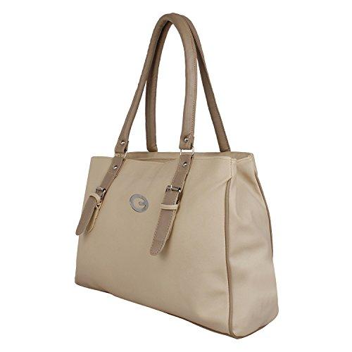 Taps Fashion Women\'s Handbag White (Taps-5)