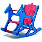 Nilkamal Jungle Kids Chair (Blue and Red)