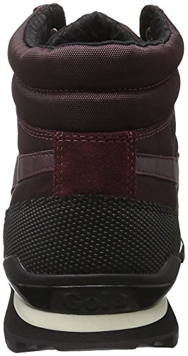 Gola Herren Ridgerunner High II Top Rot (Burgundy/Black)