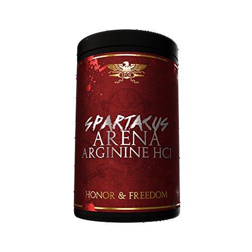 Limited Edition Gods Rage Spartacus Arena Arginine HCL Pump Muskelwachstum Bodybuilding 500g