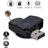 codomoxo Porte-Clés Clef USB avec mini Caméra Espion HD