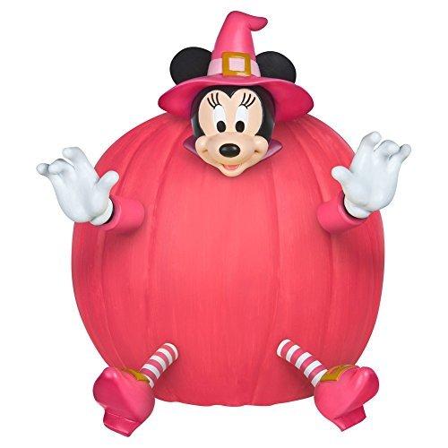Disney Minnie Mouse Maus Hexe Pumkin Push In Kürbis Dekorations ()