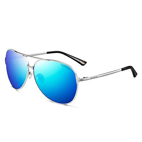 WFL Männer Sonnenbrille Sonnenbrille Männer Fahren Polarisierte Sonnenbrille Treiber Fahren Gläser 8009,C,G