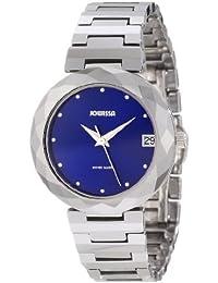 Jowissa J1.175.M - Reloj analógico de cuarzo para mujer con correa de tungsteno, color plateado