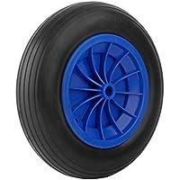 Forever Speed 3.50-8 Rueda maciza para carretilla de almacén profesional o doméstico