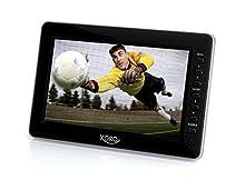 "Xoro PTL 700 7"" LCD 1024 x 600Pixel Nero TV portatile"