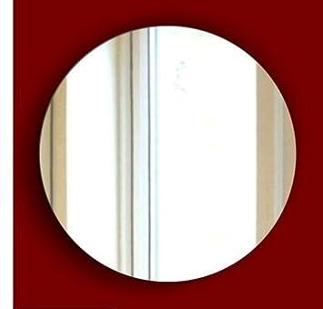 Miroir rond sans cadre Sans clou Kit plet pour la salle de
