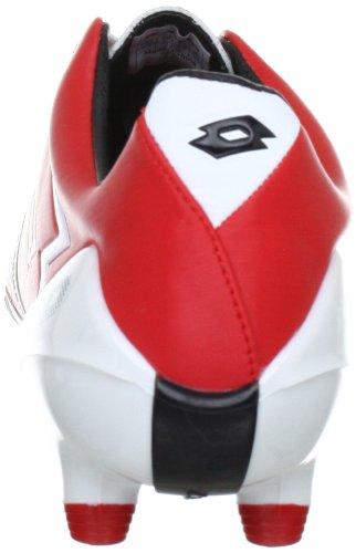 Lotto Sport ZHERO GRAV.II 200FG Q0900 Herren Sportschuhe - Fußball Rot (RISK RED/WHITE)
