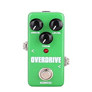 magideal mini effect pedal overdrive with true bypass for electric guitar green. Black Bedroom Furniture Sets. Home Design Ideas