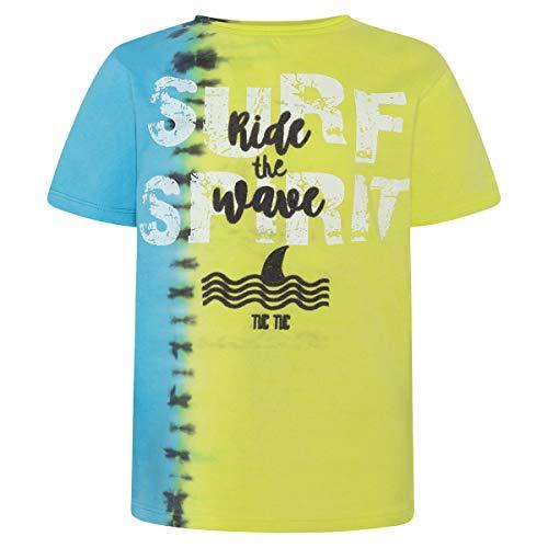 Tuc Tuc Camiseta Punto Detalles NIÑO Summer Surfers Conjunto de Ropa Verde 6, 134/146 (Tamaño del Fabricante:12A) para Niños