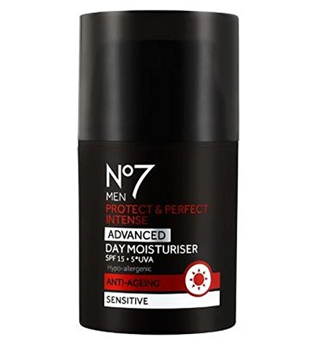 No7 Protect & Parfaite Hommes Intense Hydratant Spf15 Jour Avancée - Lot De 2
