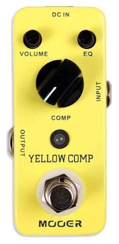 Mooer Yellow Comp Pedale Compressore