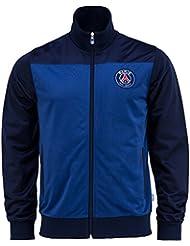 Veste zippée PSG - Collection officielle Paris Saint Germain - Taille enfant garçon